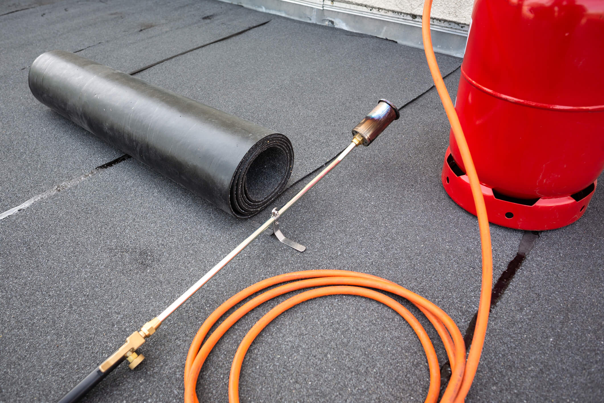 Equipment for Rolled Roof