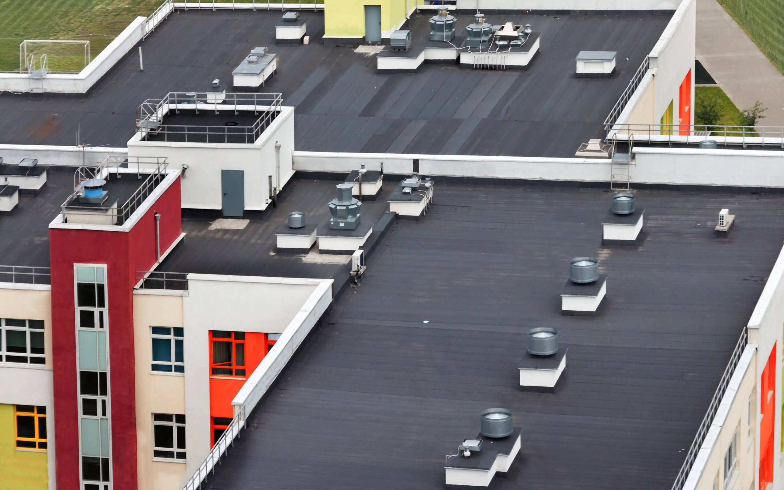 View of Rubber Roof