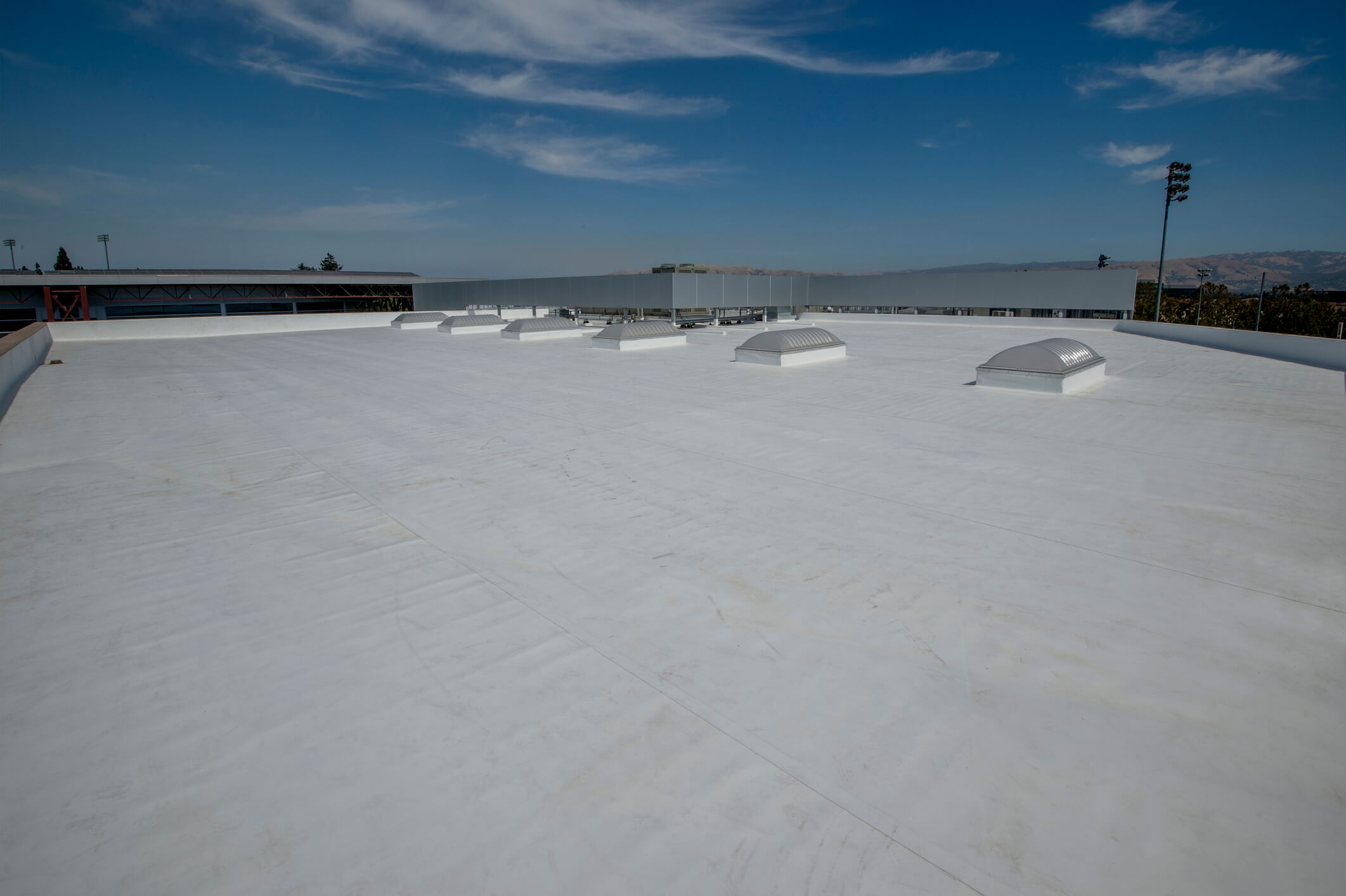 PVC Commercial Roof