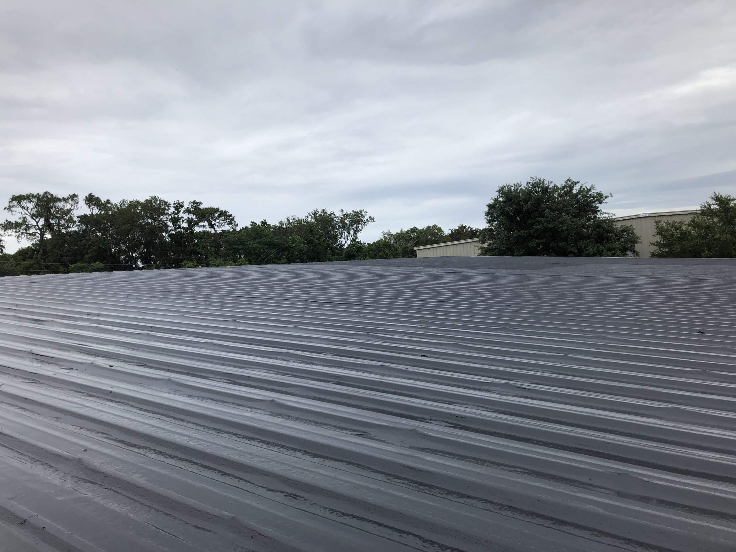 Boone Distributor Warehouse Repaired roof