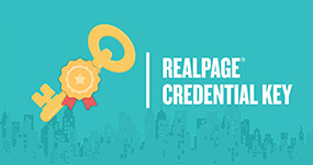 Real Page Credential Key Logo